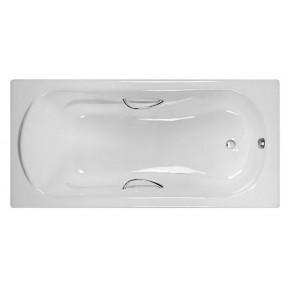 Чугунная ванна Castalia Venera 1700х800х42 с ручками