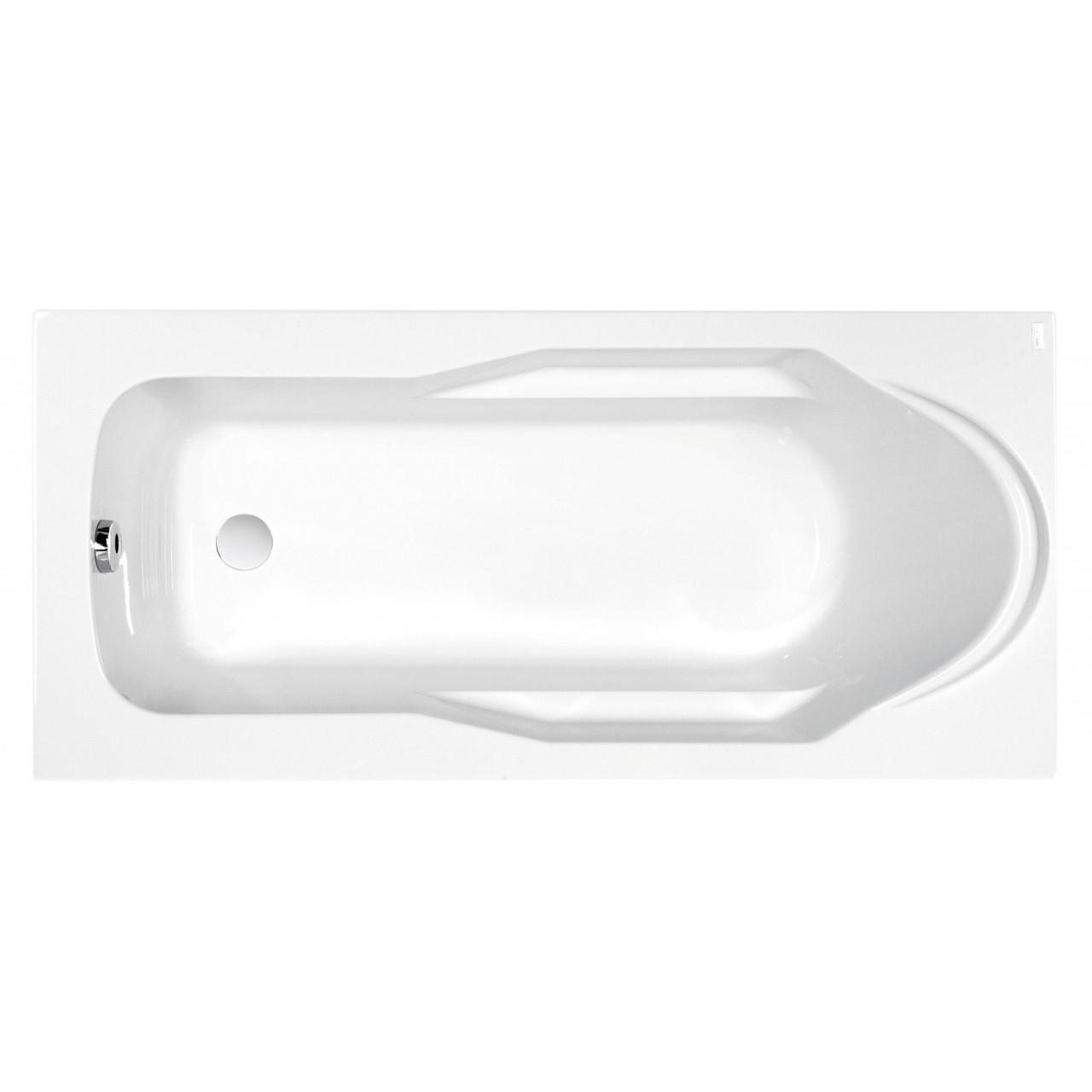 Акриловая ванна Cersanit Santana WP-SANTANA*160x70 купить в Москве по цене от 7509р. в интернет-магазине mebel-v-vannu.ru
