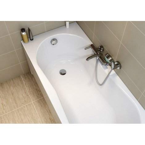 Акриловая ванна Cersanit Nike WP-NIKE*170 170x70 см купить в Москве по цене от 9828р. в интернет-магазине mebel-v-vannu.ru