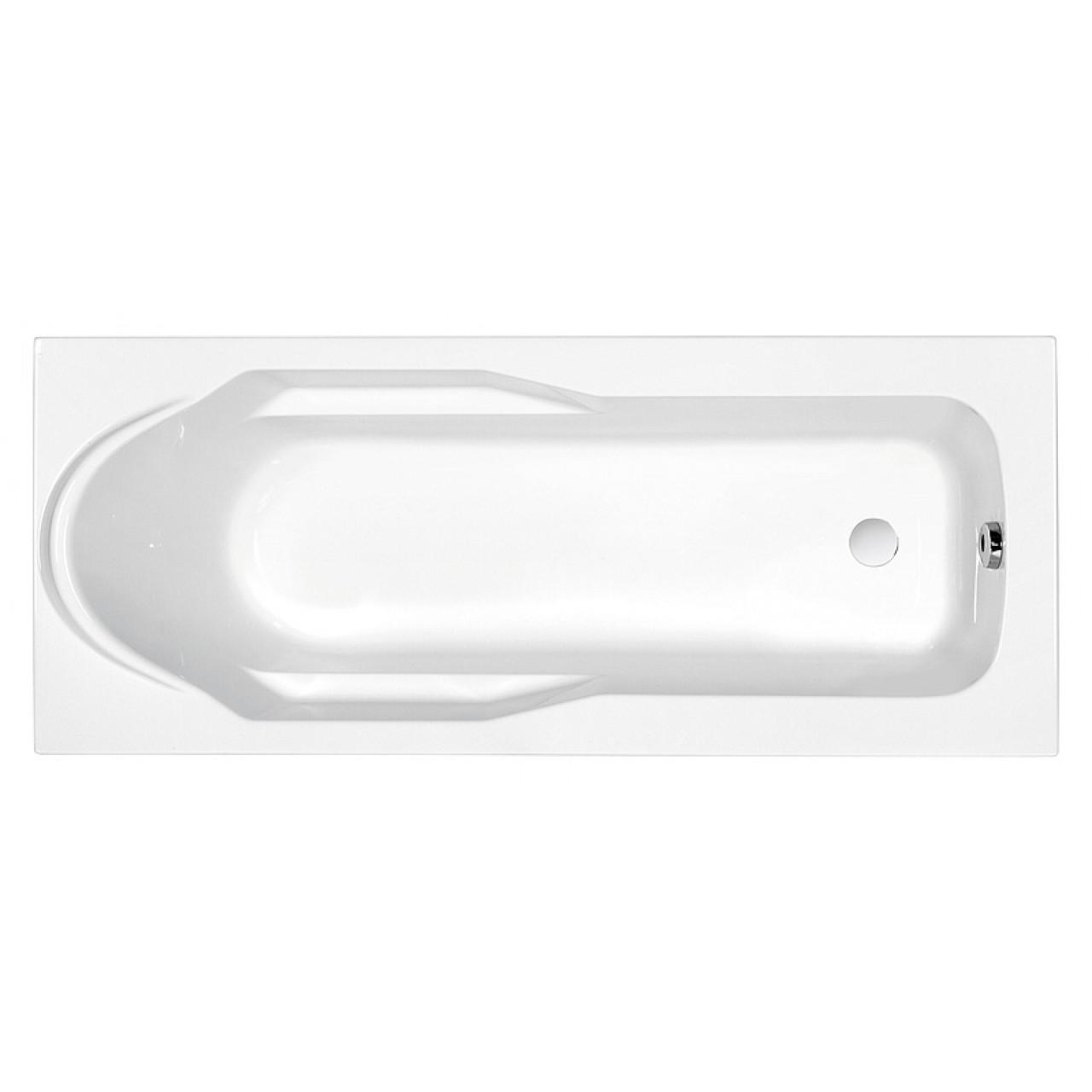 Акриловая ванна Cersanit Santana WP-SANTANA*170 170x70 см купить в Москве по цене от 5946р. в интернет-магазине mebel-v-vannu.ru