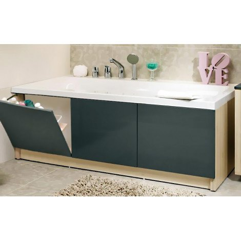 Акриловая ванна Cersanit Smart 170 купить в Москве по цене от 9503р. в интернет-магазине mebel-v-vannu.ru
