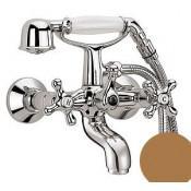 Смеситель Cezares Retro VD1-02 для ванны с душем купить в Москве по цене от 14127р. в интернет-магазине mebel-v-vannu.ru