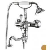 Смеситель Cezares Margot MARGOT-VDFM2-03/24-Bi для ванны с душем купить в Москве по цене от 59980р. в интернет-магазине mebel-v-vannu.ru