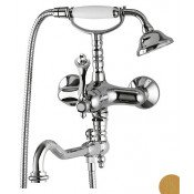 Смеситель Cezares Margot MARGOT-VDFM2-03/24-M для ванны с душем купить в Москве по цене от 48610р. в интернет-магазине mebel-v-vannu.ru