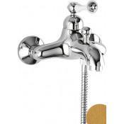 Смеситель Cezares Margot MARGOT-VM-03/24-Bi для ванны с душем купить в Москве по цене от 22320р. в интернет-магазине mebel-v-vannu.ru