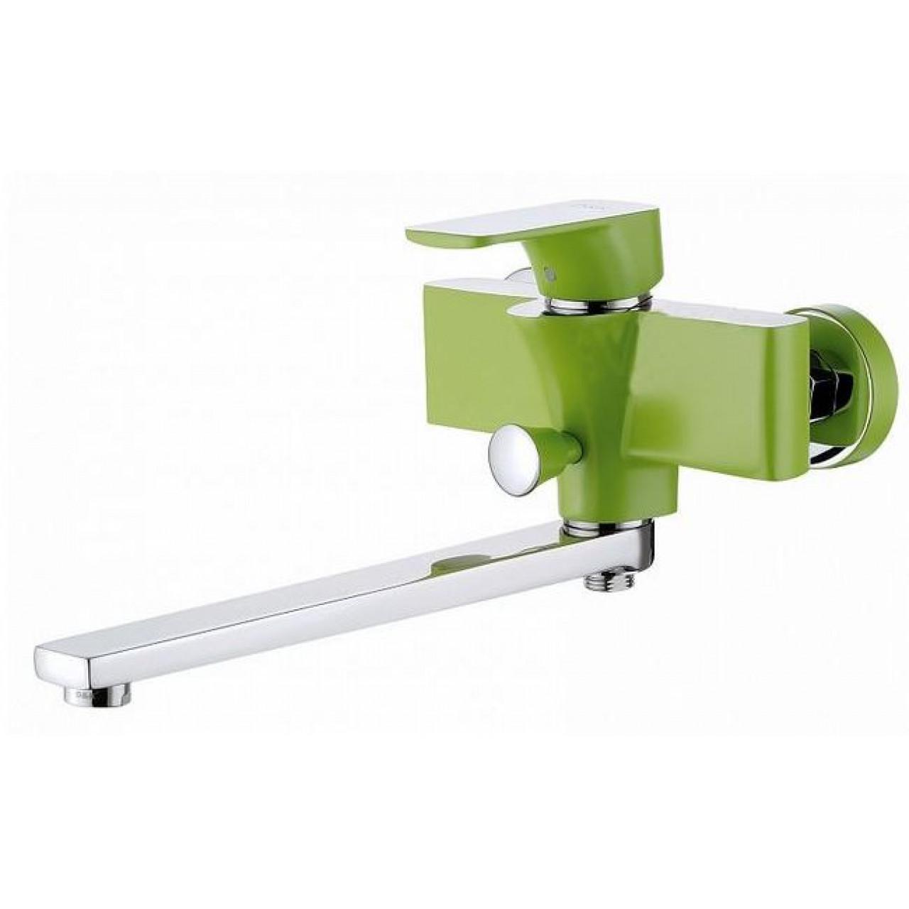 Смеситель D&K Berlin Freie DA1433312 универсальный зеленый купить в Москве по цене от 9292р. в интернет-магазине mebel-v-vannu.ru