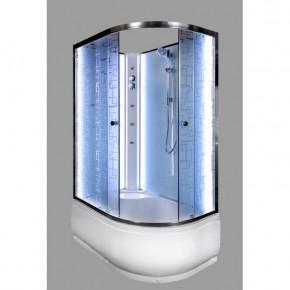 Душевая кабина Deto ЕМ4512 L N с LED подсветкой и гидромассажем