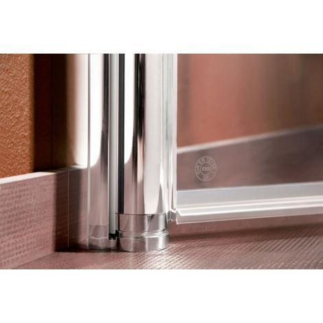 Дверь для душа Duschwelten МК 800 ST/N 5072005001040 R, L купить в Москве по цене от 51200р. в интернет-магазине mebel-v-vannu.ru