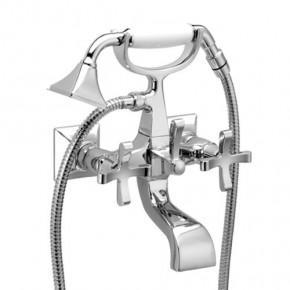 Смеситель Effepi CHIC 7 CENTO 43004 для ванны с душем полированный никель