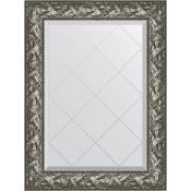 Зеркало Evoform Exclusive-G BY 4114 69x91 см византия серебро купить в Москве по цене от 12667р. в интернет-магазине mebel-v-vannu.ru