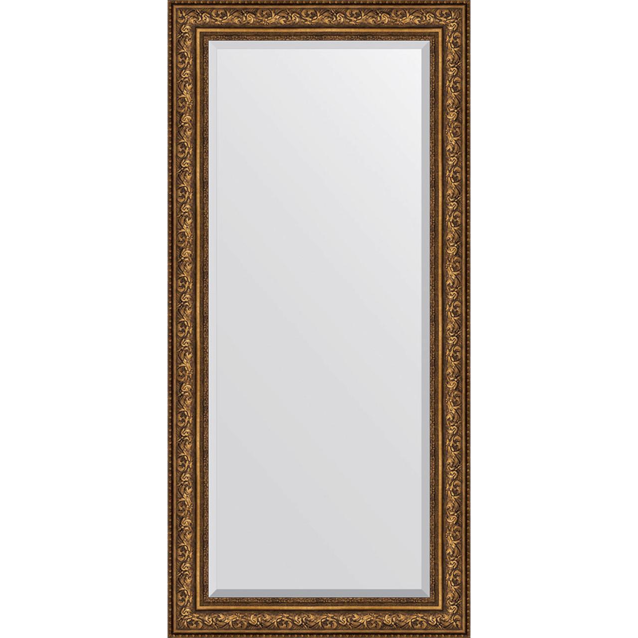 Зеркало Evoform Exclusive BY 3609 80x170 см виньетка состаренная бронза купить в Москве по цене от 20314р. в интернет-магазине mebel-v-vannu.ru