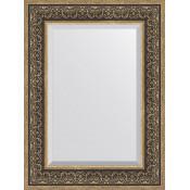 Зеркало Evoform Exclusive BY 3397 59x79 см вензель серебряный купить в Москве по цене от 7134р. в интернет-магазине mebel-v-vannu.ru