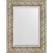 Зеркало Evoform Exclusive BY 3398 60x80 см барокко серебро купить в Москве по цене от 7797р. в интернет-магазине mebel-v-vannu.ru