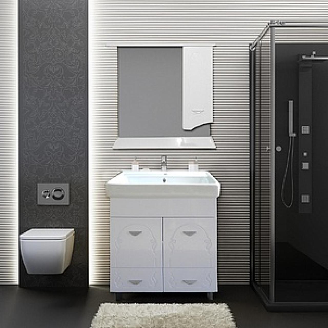 Комплект мебели Ferrara Квадро 60 (2 ящика) купить в Москве по цене от 15202р. в интернет-магазине mebel-v-vannu.ru