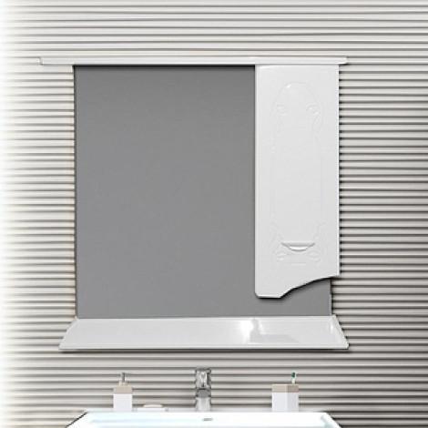 Зеркало-шкаф Ferrara Квадро 70 купить в Москве по цене от 6890р. в интернет-магазине mebel-v-vannu.ru