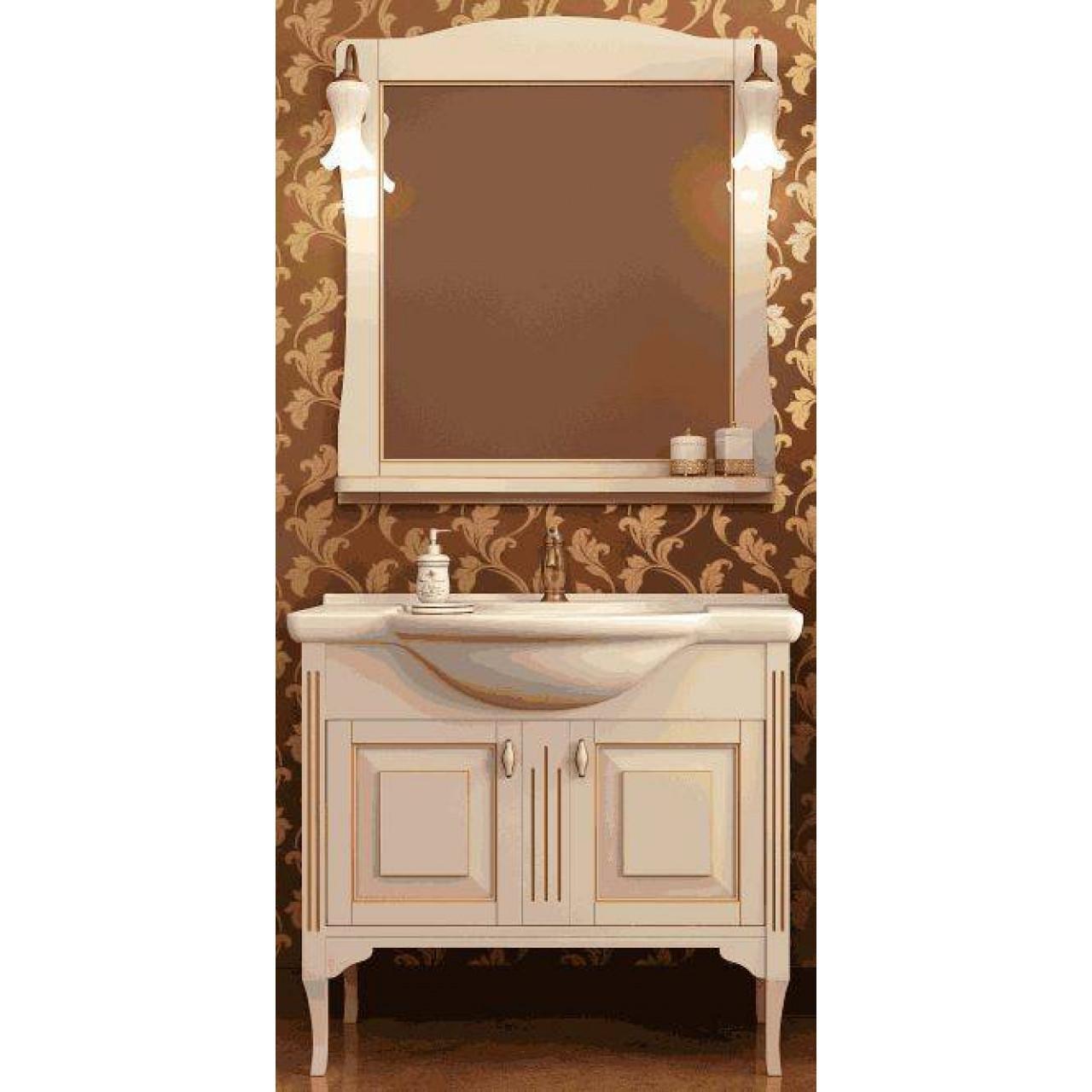 Комплект мебели Ferrara Равелло 85 купить в Москве по цене от 35790р. в интернет-магазине mebel-v-vannu.ru
