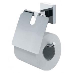 Держатель туалетной бумаги Fixsen Metra FX-11110 с крышкой