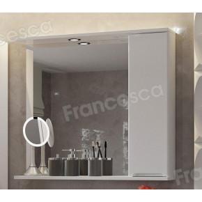 Зеркало-шкаф Francesca Фиоре 80