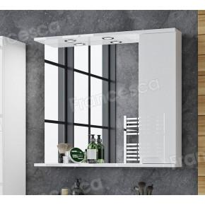 Зеркало-шкаф Francesca Примавера 80