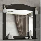 Зеркало Francesca Империя П 80 венге купить в Москве по цене от 7080р. в интернет-магазине mebel-v-vannu.ru