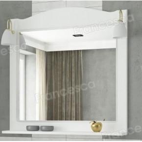 Зеркало Francesca Империя П 80 белое