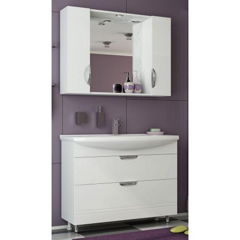 Комплект мебели Francesca Доминго 105 (2 ящика) купить в Москве по цене от 17210р. в интернет-магазине mebel-v-vannu.ru