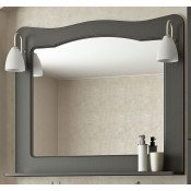 Зеркало Francesca Империя 100 венге купить в Москве по цене от 6980р. в интернет-магазине mebel-v-vannu.ru