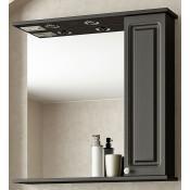Шкаф-зеркало Francesca Империя 75 венге купить в Москве по цене от 4388р. в интернет-магазине mebel-v-vannu.ru