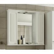 Шкаф-зеркало Francesca Империя 80-2 купить в Москве по цене от 5320р. в интернет-магазине mebel-v-vannu.ru