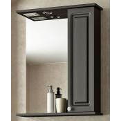 Шкаф-зеркало Francesca Империя 55 венге купить в Москве по цене от 6240р. в интернет-магазине mebel-v-vannu.ru