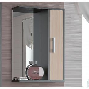 Шкаф-зеркало Francesca Eco 50 дуб-венге