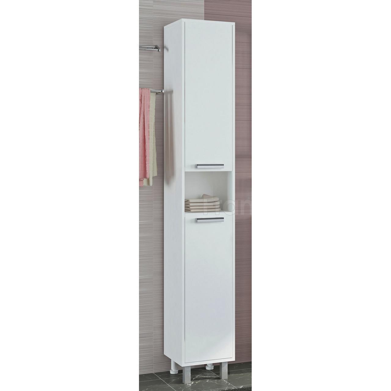 Пенал Francesca Eco 30 белый купить в Москве по цене от 3370р. в интернет-магазине mebel-v-vannu.ru