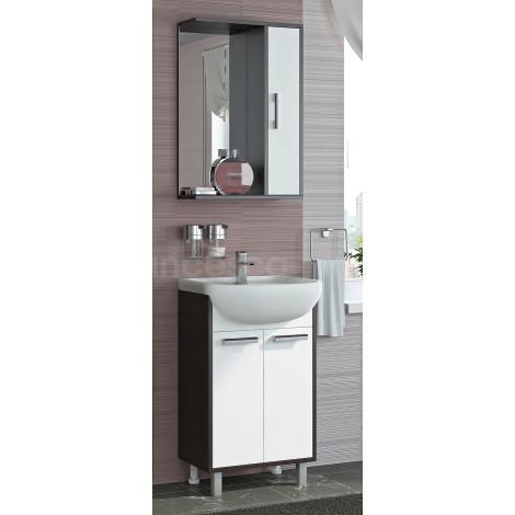 Комплект мебели Francesca Eco 50 белый-венге купить в Москве по цене от 6330р. в интернет-магазине mebel-v-vannu.ru