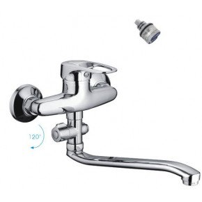 Смеситель Frap H28 F2128-B для ванны с душем