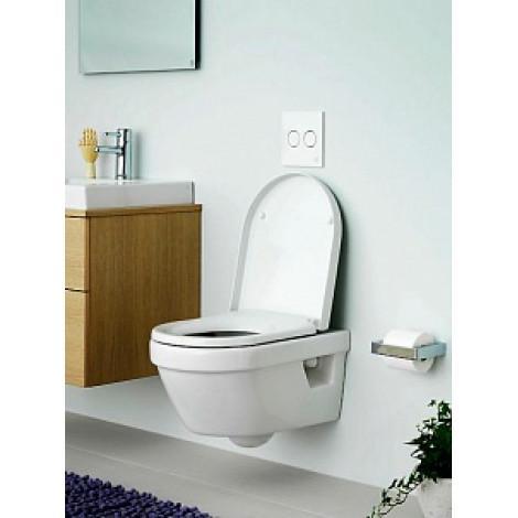 Унитаз подвесной Gustavsberg Hygienic Flush WWC 5G84HR01 безободковый купить в Москве по цене от 14771р. в интернет-магазине mebel-v-vannu.ru