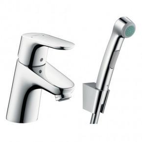 Смеситель Hansgrohe Focus 31926000 для раковины с гигиеническим душем