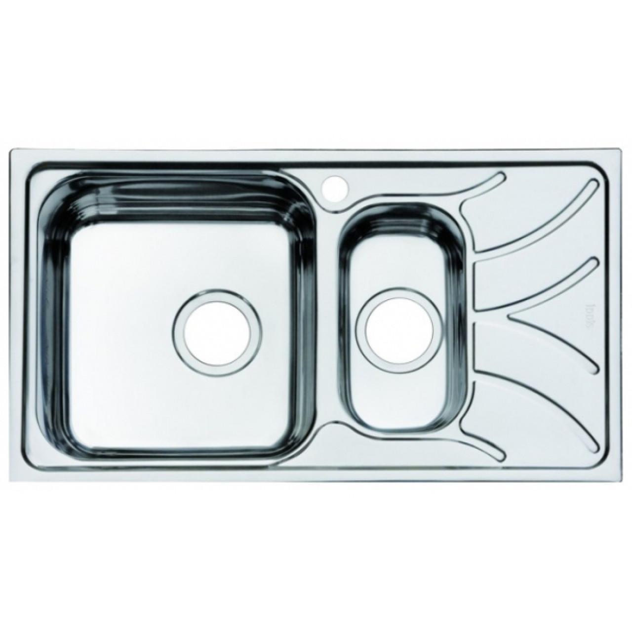 Мойка для кухни Iddis Arro 780х440 2 чаши купить в Москве по цене от 5400р. в интернет-магазине mebel-v-vannu.ru