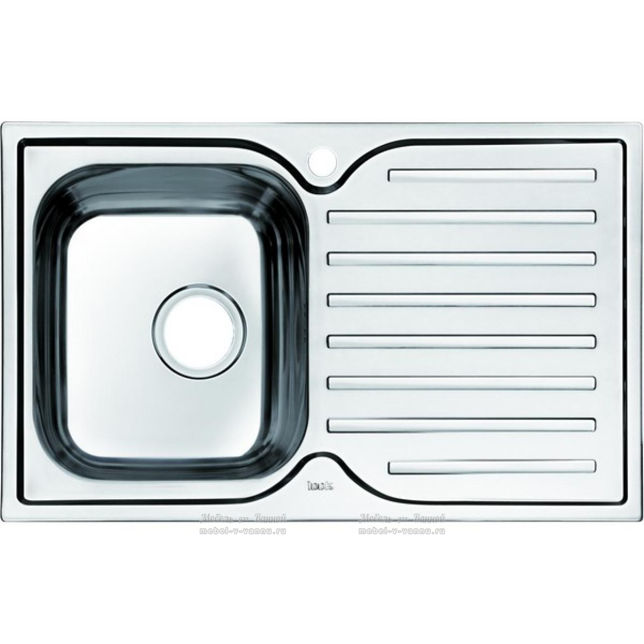 Мойка для кухни Iddis Strit 780х480 купить в Москве по цене от 5200р. в интернет-магазине mebel-v-vannu.ru