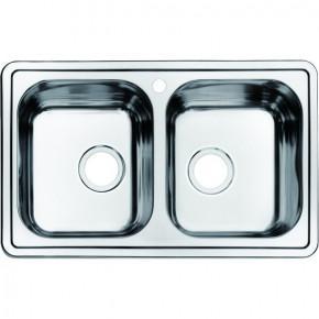 Мойка для кухни Iddis Strit 780х480 2 чаши