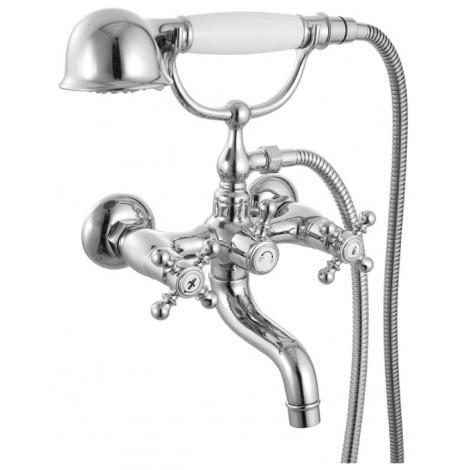 Смеситель Iddis Sam SAMSB02i02 для ванны с керамическим дивертором купить в Москве по цене от 6280р. в интернет-магазине mebel-v-vannu.ru