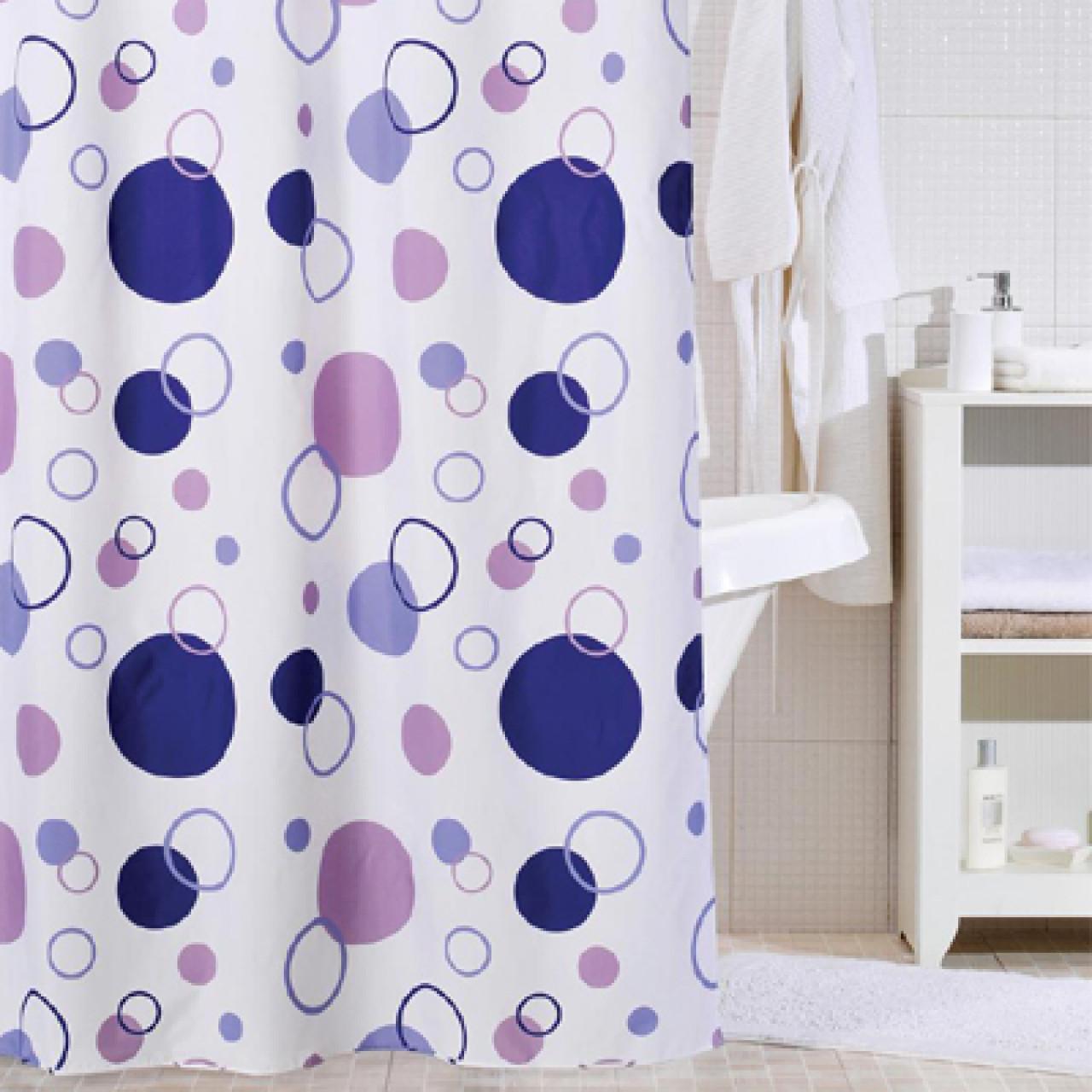 Штора для ванной комнаты Iddis Floating Balloon купить в Москве по цене от 1060р. в интернет-магазине mebel-v-vannu.ru