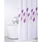Штора для ванной комнаты Iddis Lavender Happiness купить в Москве по цене от 880р. в интернет-магазине mebel-v-vannu.ru