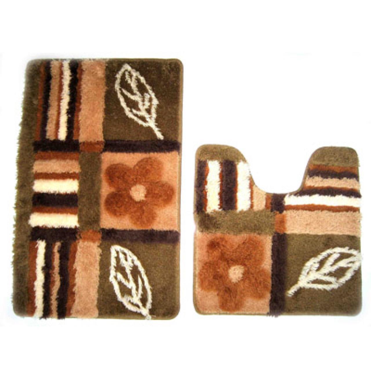 Набор ковриков для ванной комнаты Iddis Nature Solo купить в Москве по цене от 1680р. в интернет-магазине mebel-v-vannu.ru