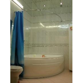 Карниз для ванны Дугой 140x140см