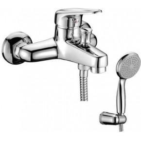 Смеситель LeMark OMEGA LM3102C для ванны с душем короткий излив