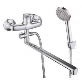 Смеситель Lucky Tap BBO-3024S-35L-32 для ванны с душем