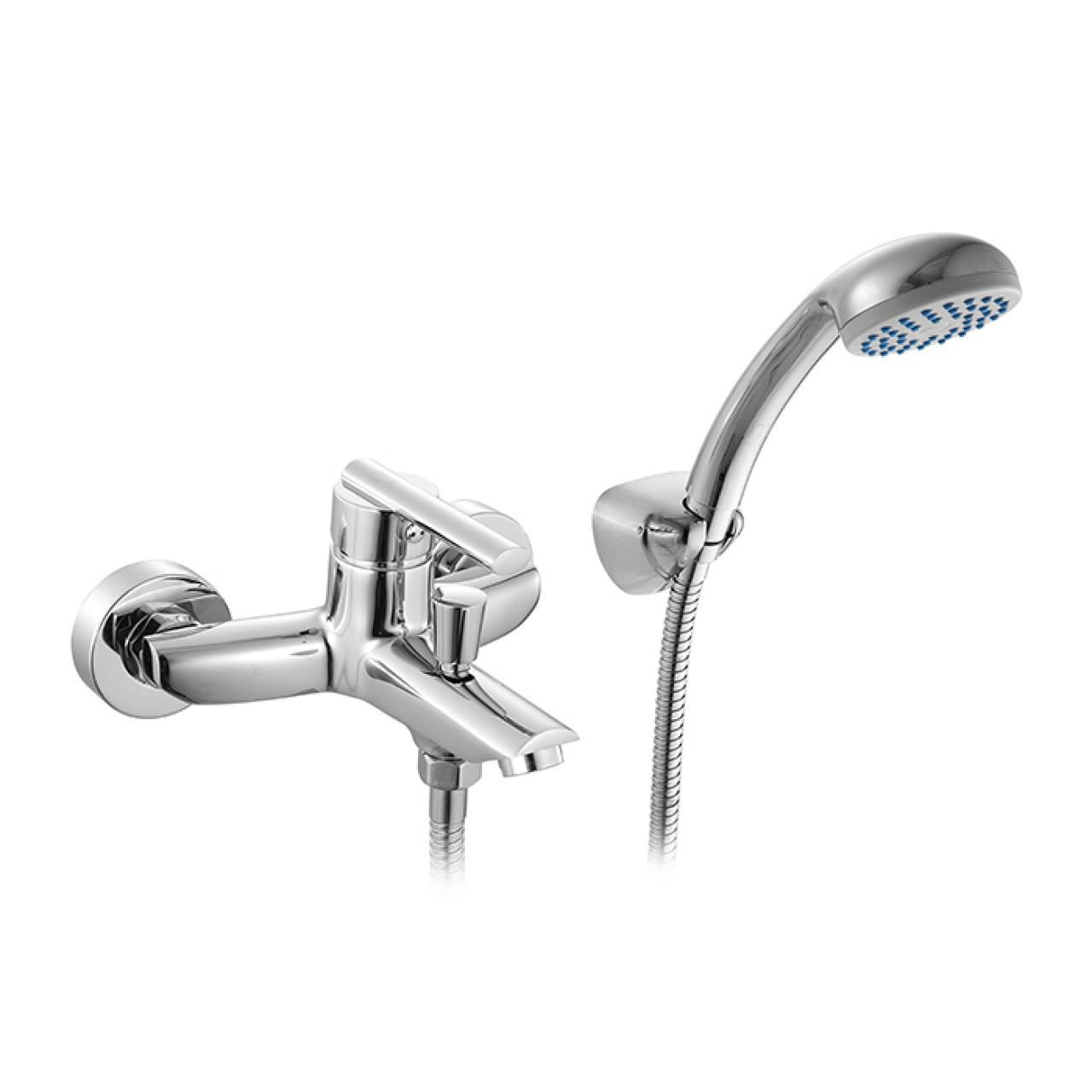 Смеситель Milardo Magellan MAGSB00M02 для ванны с душем купить в Москве по цене от 5310р. в интернет-магазине mebel-v-vannu.ru