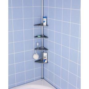 Полка для ванной Нова M-N15-20 серый матовый