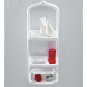 Полка для ванной Нова M-N05-01 белый