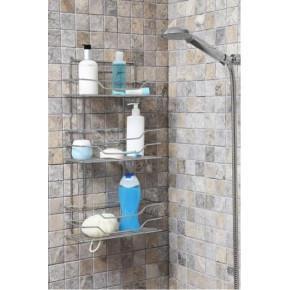 Полка для ванной Нова D-05225 хром